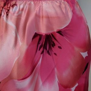 Victoria's Secret Skirts - Victoria's Secret Silk Slip Skirt